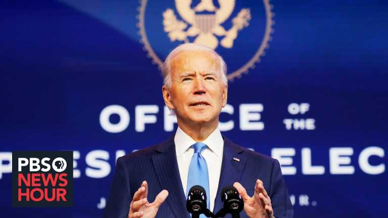 Biden pivots from campaigning to governing after Electoral College vote