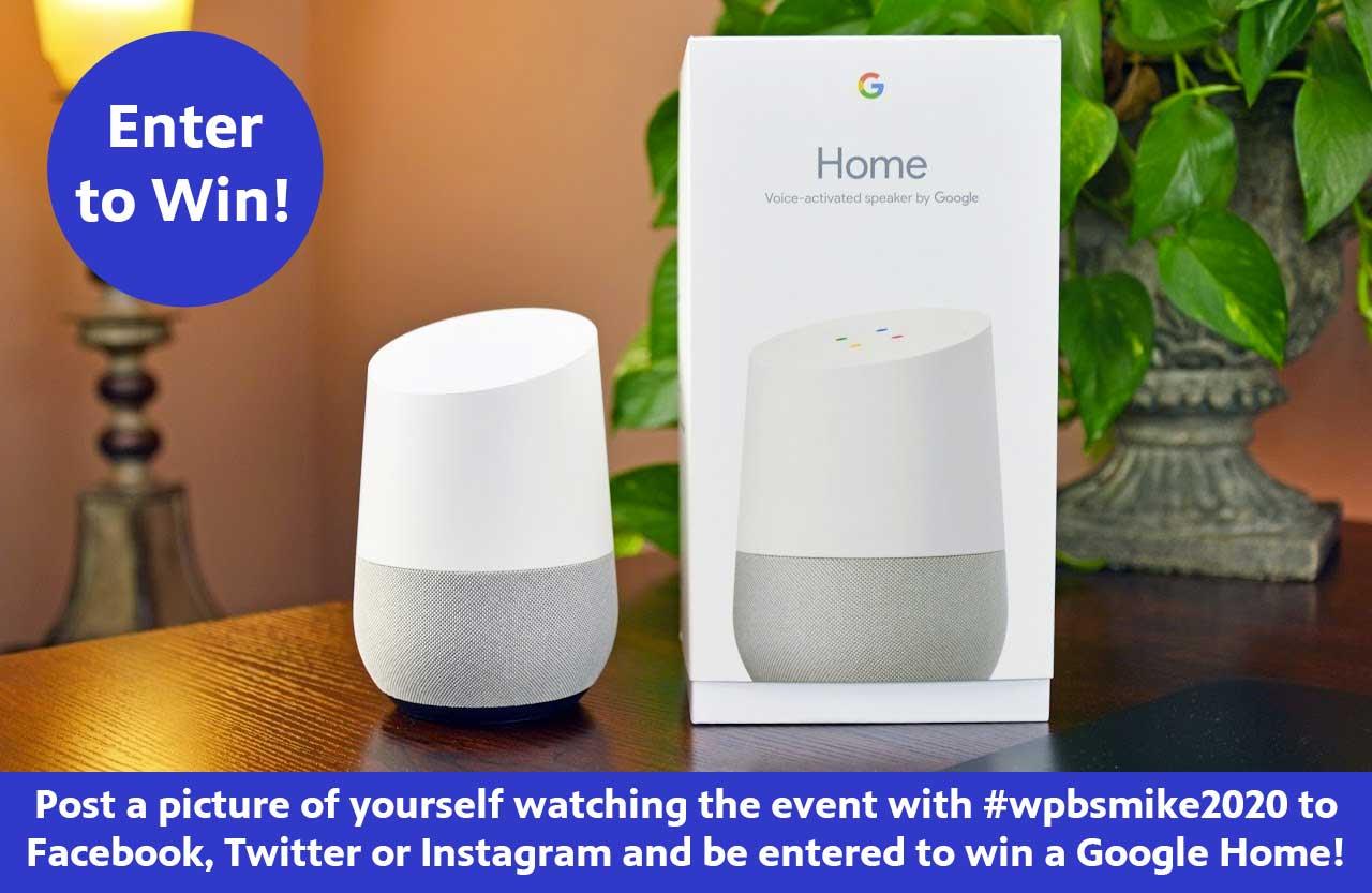Enter to win a Google Home