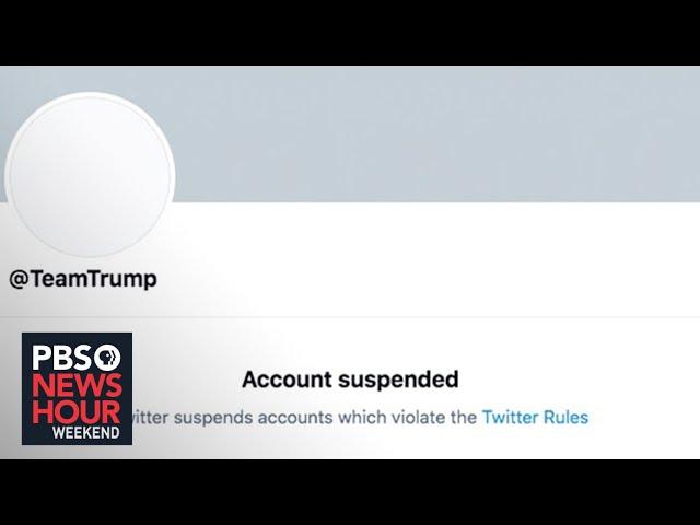 Twitter, FB have deplatformed Trump. Is it enough?