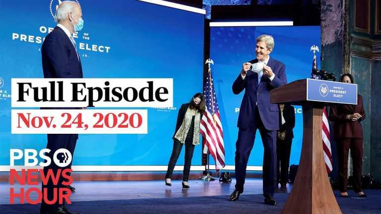 PBS NewsHour full episode, Nov. 24, 2020