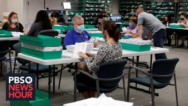 The status of vote counts in Pennsylvania, Michigan and Georgia