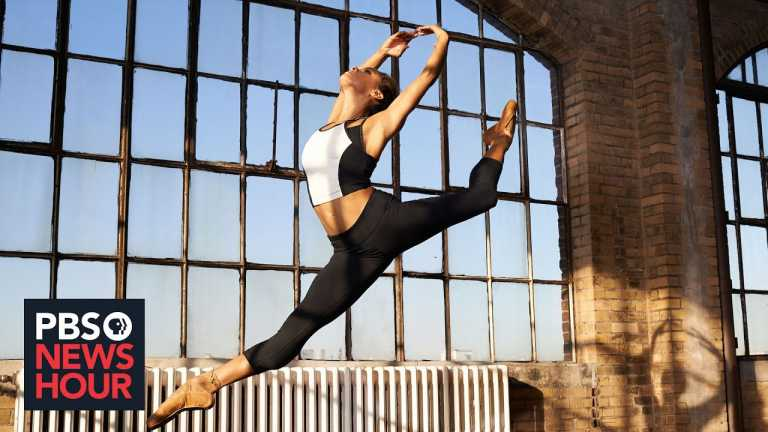 Dancer Misty Copeland's graceful steps are halted by the pandemic