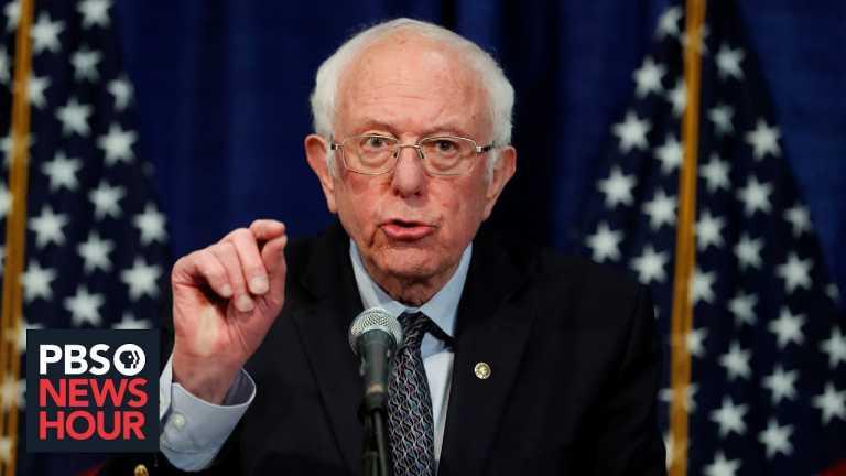 Sen. Bernie Sanders on what an economic relief bill should look like