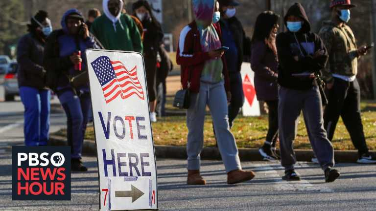 Georgia voters head to the polls to decide control of the U.S. Senate