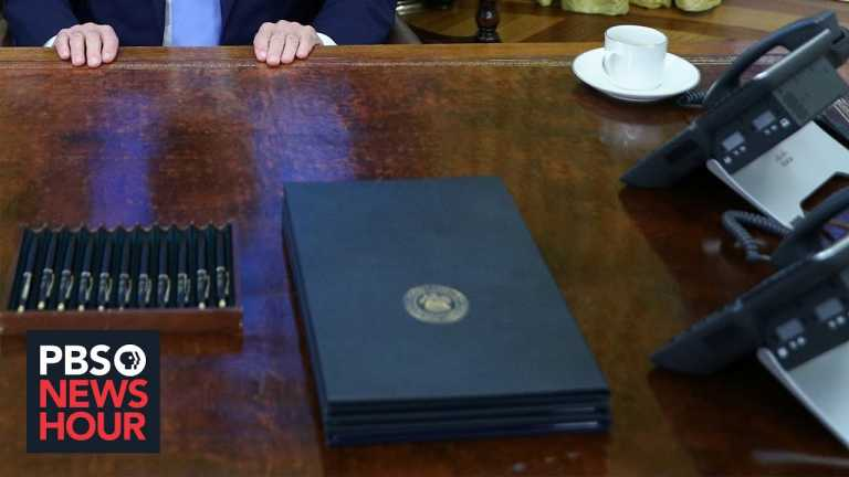 Biden begins his presidency with a flurry of executive orders