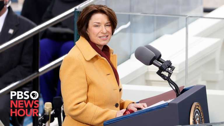 WATCH: Sen. Klobuchar's full remarks at Biden inauguration