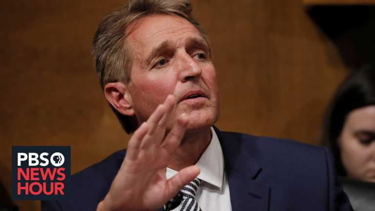 Trump's refusal to concede 'just awful for the country,' former Sen. Jeff Flake says