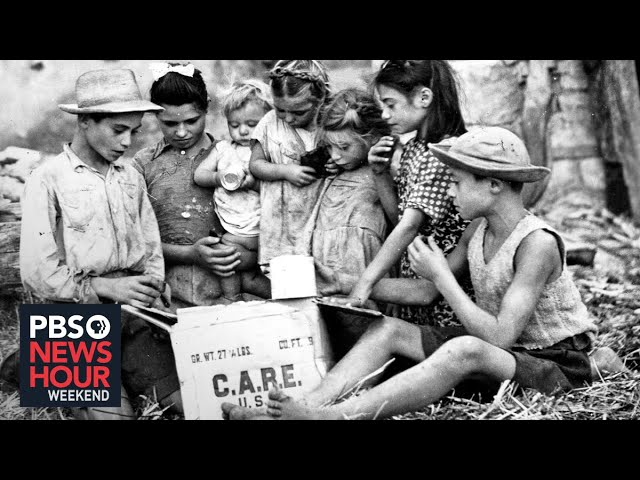CARE packages helped Europeans during the War. Today, they are helping Americans