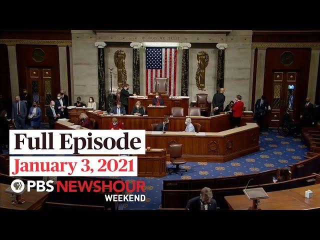 PBS NewsHour Weekend Full Episode January 3, 2021