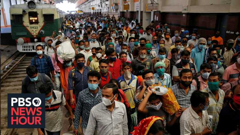 India's poor find themselves even more desperate amid the pandemic economy