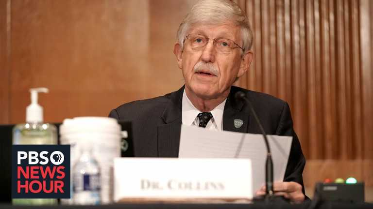 Head of NIH urges Americans to take precautions while awaiting vaccine