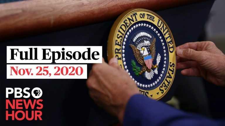 PBS NewsHour West live episode, Nov. 25, 2020