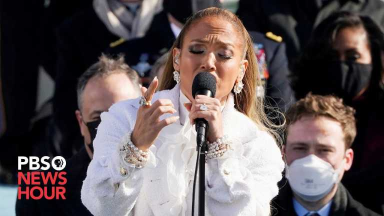 WATCH: Jennifer Lopez sings 'This Land Is Your Land' for Biden inauguration