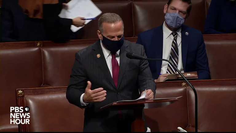 WATCH: Rep. David Cicilline debates during Trump impeachment