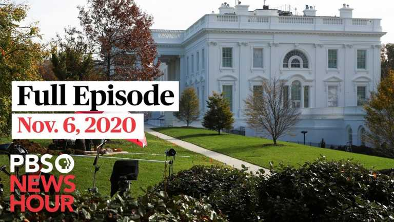 PBS NewsHour West live episode, Nov. 6, 2020