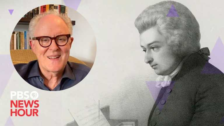 WATCH: How listening to Mozart helps John Lithgow during the pandemic
