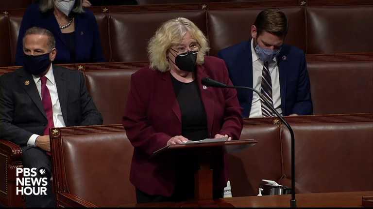 WATCH: Rep. Zoe Lofgren's full statement on Trump impeachment