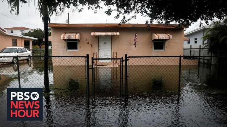 News Wrap: Tropical Storm Eta floods parts of South Florida