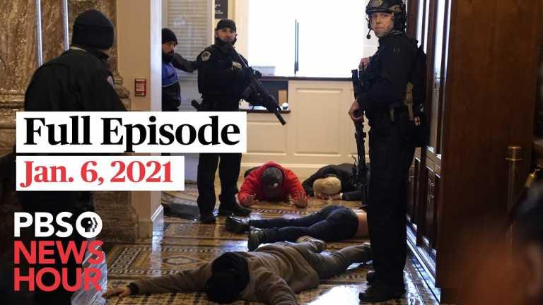 PBS NewsHour full episode, Jan. 6, 2021