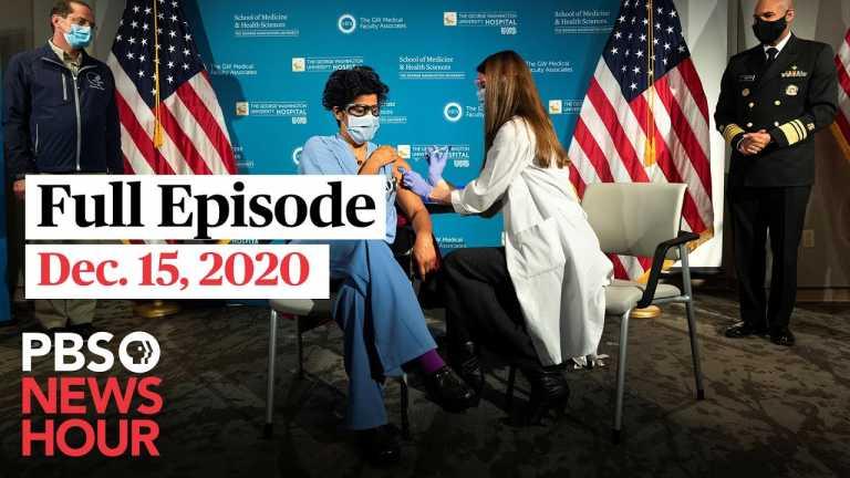 PBS NewsHour full episode, Dec. 15, 2020