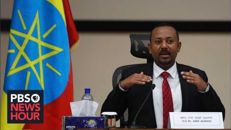 News Wrap: Ethiopia's leader denies rebels' claims of atrocities