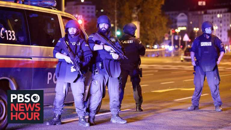 News Wrap: Austrian authorities say gunman had tried to join ISIS