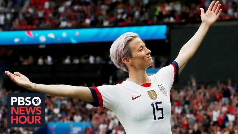 Soccer star Megan Rapinoe on living in a world created by men