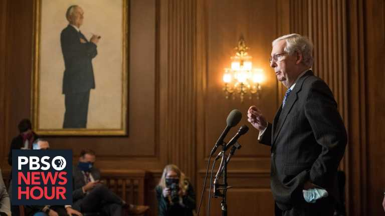 News Wrap: Six weeks after the election, McConnell recognizes Biden's victory
