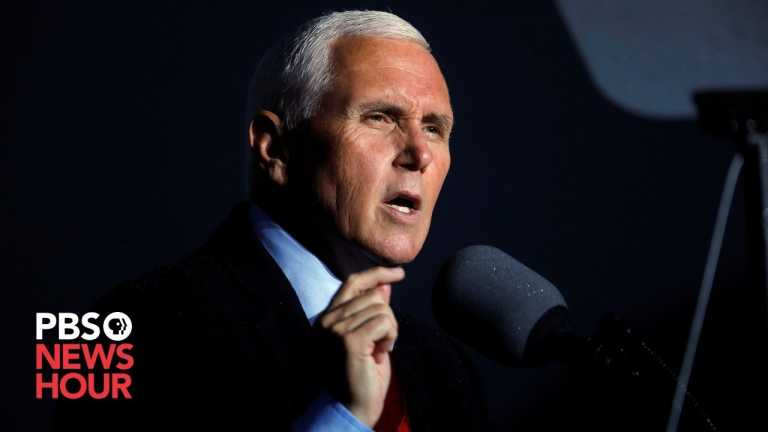 WATCH: Pence participates in COVID-19 vaccine roundtable
