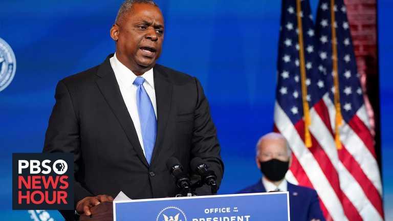 News Wrap: Biden's pick to lead the Pentagon raises concerns in Congress