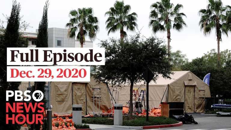 PBS NewsHour full episode, Dec. 29,  2020