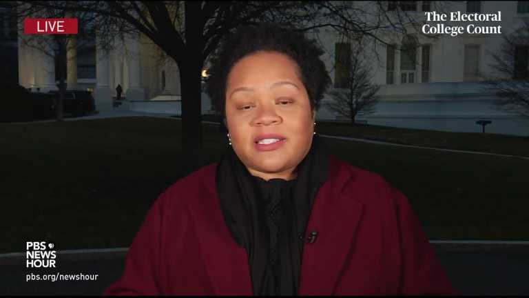 WATCH: Trump 'consumed' with staying in power, Yamiche Alcindor says