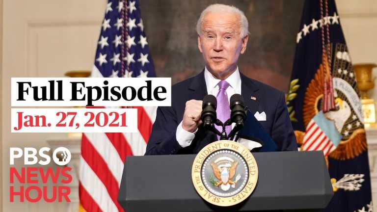 PBS NewsHour West live episode, Jan. 27, 2021