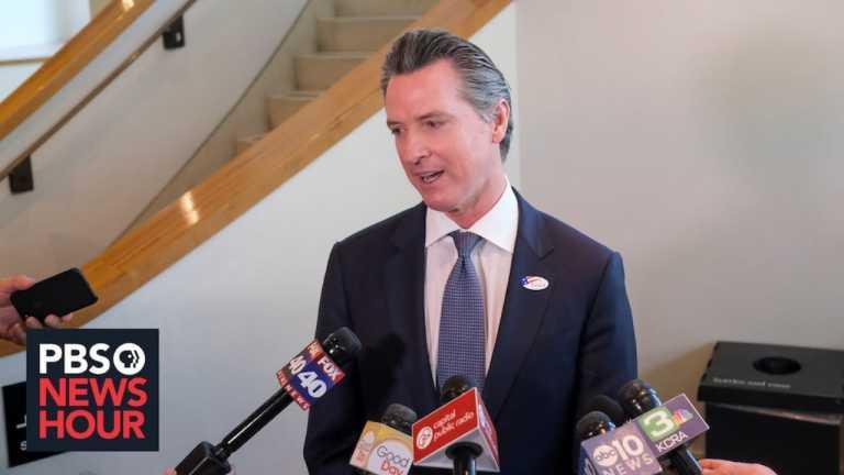 WATCH LIVE: California governor gives coronavirus update – November 23, 2020