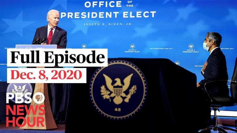 PBS NewsHour full episode, Dec. 8, 2020