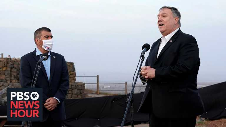 The significance of Pompeo's 'unprecedented' trip to the occupied West Bank