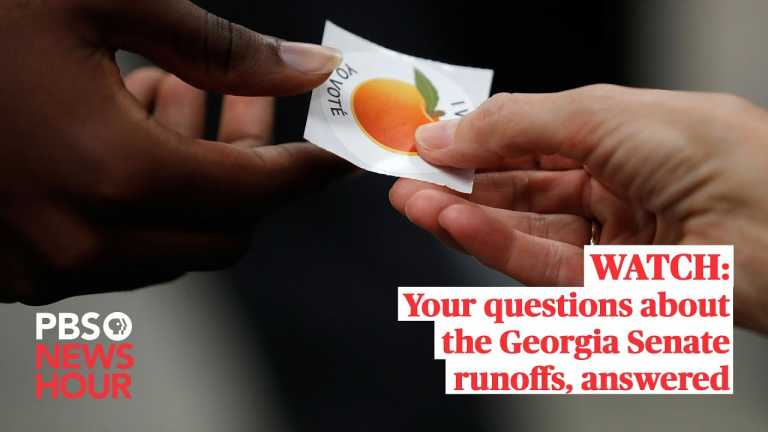WATCH: Your questions about the Georgia Senate runoffs, answered