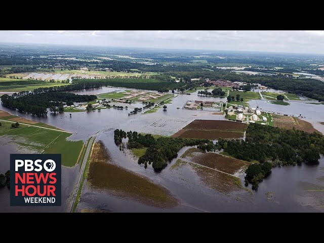 North Carolina: A key swing state battered by climate change