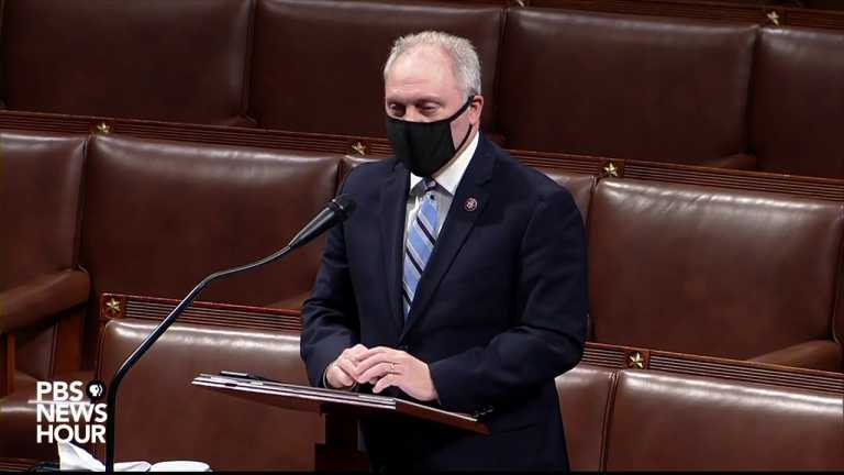 WATCH: Rep. Steve Scalise gives GOP's final argument in Trump impeachment hearing