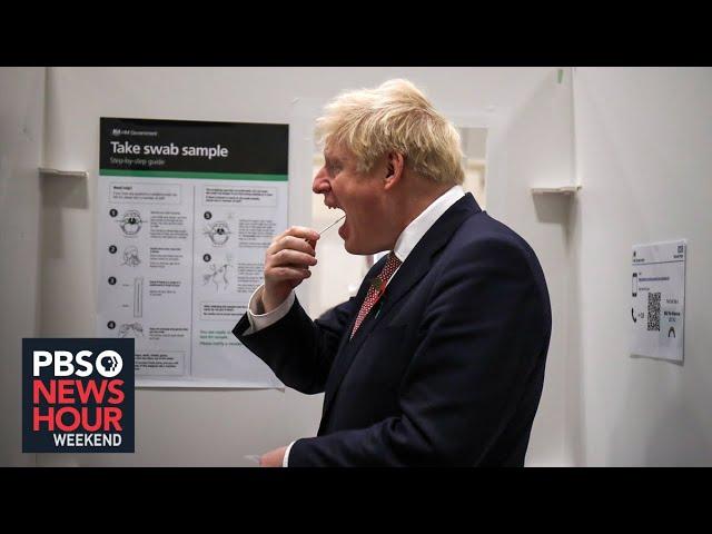 Uncertainty in U.K. over COVID-19, US-UK relationship