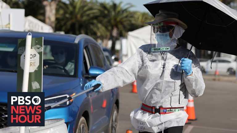 Frontline workers, communities of color bear the brunt of California's coronavirus surge