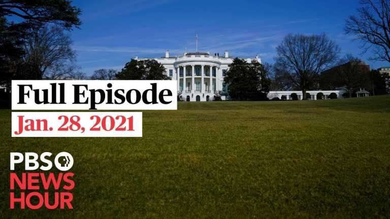 PBS NewsHour West live episode, Jan. 28, 2021