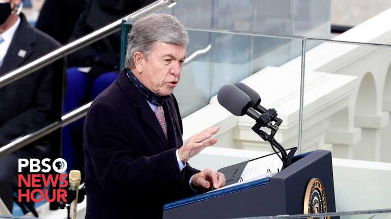WATCH: Sen. Roy Blunt says inauguration is 'not a moment of division' but of 'unification'