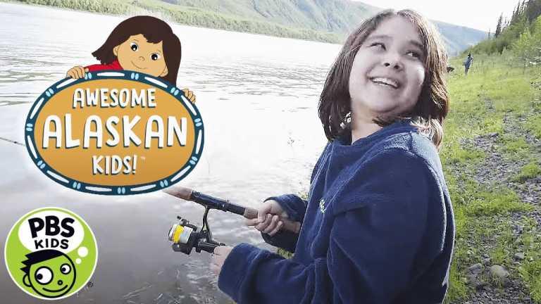 Molly of Denali | Awesome Alaskan Kids: Fish Camp | PBS KIDS