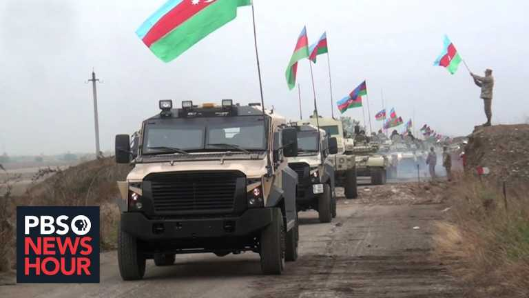 Uneasy peace takes hold in contested region of Azerbaijan