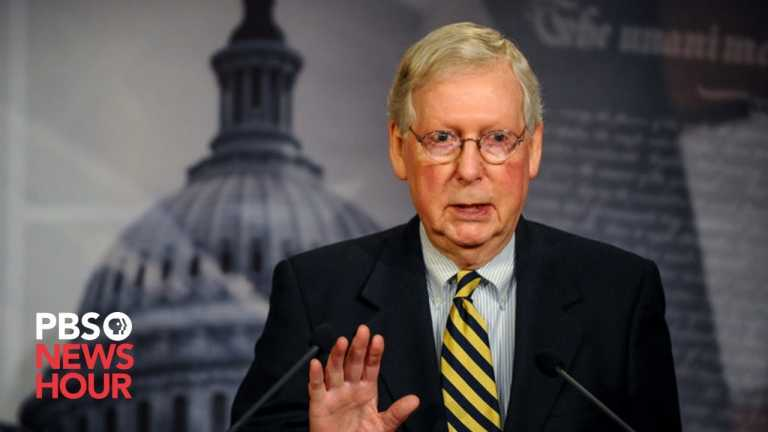 WATCH LIVE: McConnell holds news conference with key Senate races still undecided