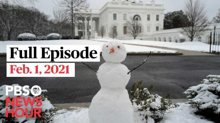 PBS NewsHour West live episode, Feb. 1, 2021