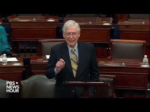 WATCH: After voting to acquit Trump, McConnell says there's 'no question' he provoked Capitol attack