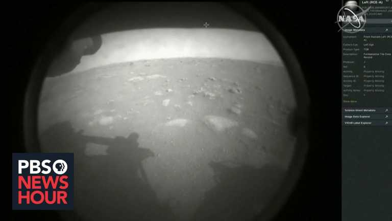 NASA rover lands on Mars, resuming search for remnants of life