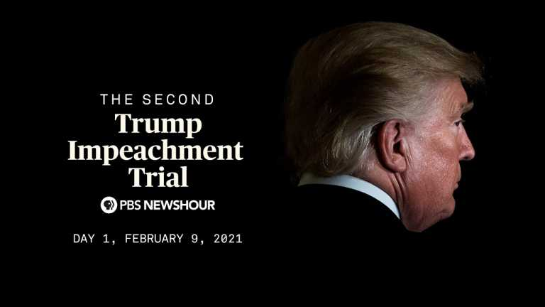 WATCH LIVE: Trump's second impeachment trial begins in Senate | Day 1
